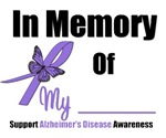 In Memory Alzheimer's Awareness T-Shirts & Gifts