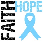 Faith Hope Prostate Cancer T-Shirts & Gifts