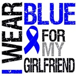 I Wear Blue Colon Cancer Girlfriend Shirts & Gifts