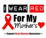 I Wear Red Mother Heart Disease Shirts & Gifts