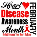 National Heart Disease Awareness Month Shirts