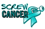 Screw Ovarian Cancer Shirts & Gifts
