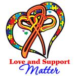 Love Support Autism Shirts and Gifts