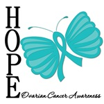 Ovarian Cancer Hope Butterfly Art Gifts