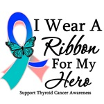 Thyroid Cancer Hero Ribbon