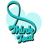 Ovarian Cancer Think Teal Shirts