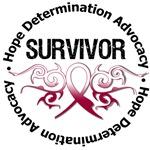 Throat Cancer Survivor Tribal