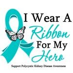 PKD I Wear A Teal Ribbon