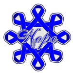 Colon Cancer Hope Ribbons