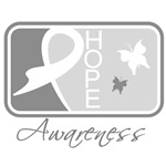 Brain Tumor Awareness Hope Tile Gifts