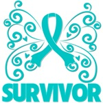 Ovarian Cancer Butterfly Awareness Gifts