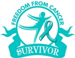 Freedom From Ovarian Cancer Shirts