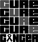 CURE Skin Cancer Collage Shirts