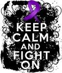 Fibromyalgia Keep Calm Fight On Shirts