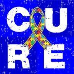 Cure Autism Awareness Cube Shirts