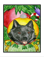 Please Click Here to See Schipperke Items.