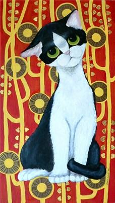 Klimt Inspired Kat