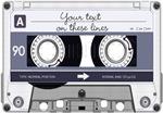 Cassette Tape - Grey
