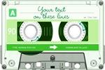 Cassette Tape - Green