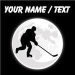 Custom Hockey Player Moon