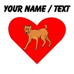 Custom Miniature Pinscher Heart