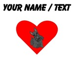 Custom Scottish Terrier Heart