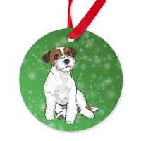 Dog Breed Ornaments (Green)