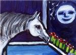 Handsome HORSE whimsical ARt!