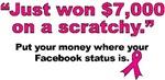 Won $7,000