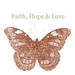Faith, Hope, Love Butterfly