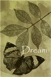 Dream Butterfly with Leaves