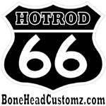 HOTROD 66  (BLK)