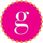 g monogram, pink