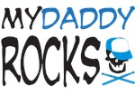 my daddy rocks! (blue)