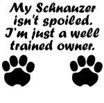 Well Trained Schnauzer Owner