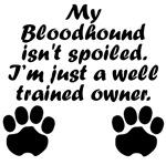 Well Trained Bloodhound Owner