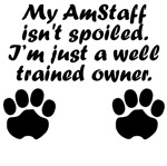 Well Trained AmStaff Owner