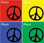 Multicolour iPeace Signs