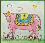 Pinkie the Cow