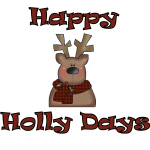 Holly-Days Reindeer