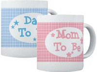 Mom and Dad To Be Mugs