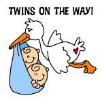 Twin Boys on the Way