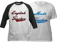 Colors Teacher Specific Shirts!