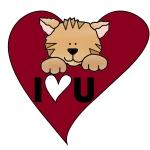 Kitten I Love U T-shirts and Gifts