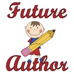 Boy Future Author T-shirts and Gifts
