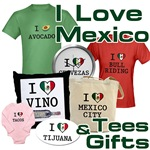 I Love Mexico T-Shirts and Gifts