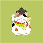 Graduation Maneki Neko