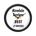 Airedale Terrier Clocks and Mousepads