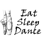 Eat, sleep, dance T-shirts and gifts.