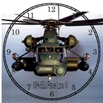 Military Art Clocks